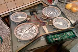 ремонт варочных панелей